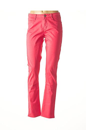 Pantalon casual rose IMUA pour femme