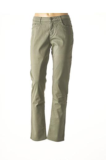Pantalon casual vert IMUA pour femme