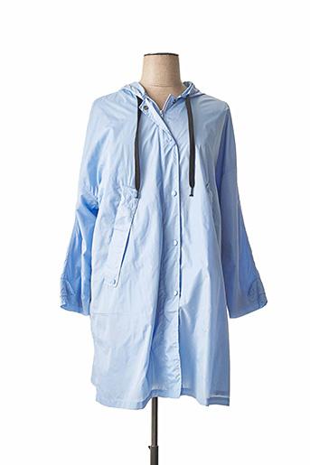 Imperméable/Trench bleu IDANO pour femme