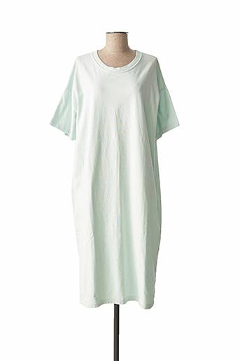Robe mi-longue vert AMERICAN VINTAGE pour femme