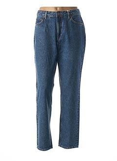Jeans coupe droite bleu DES PETITS HAUTS pour femme