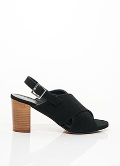 Sandales/Nu pieds noir ANANKE pour femme