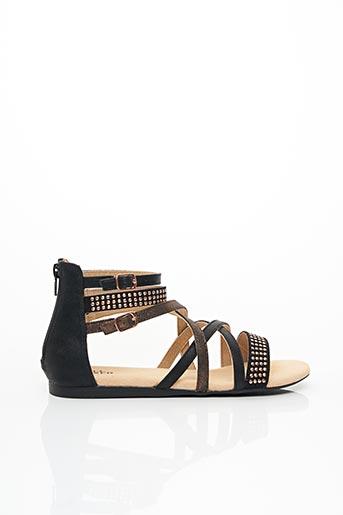 Sandales/Nu pieds noir BULLBOXER pour femme