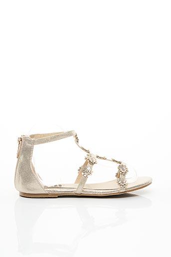 Sandales/Nu pieds beige XTI pour fille
