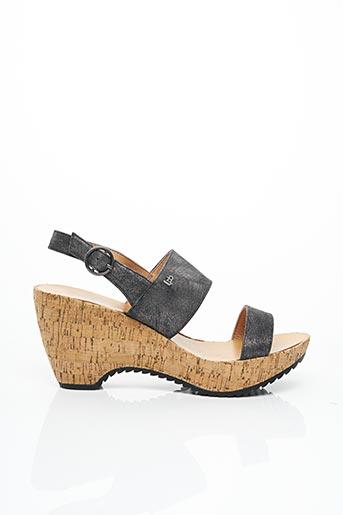 Sandales/Nu pieds noir LES P'TITES BOMBES pour femme