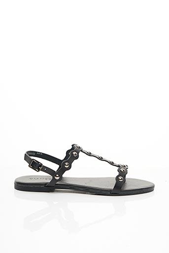 Sandales/Nu pieds noir BIANCO. pour femme