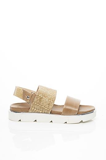 Sandales/Nu pieds beige ELIZABETH STUART pour femme