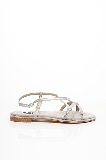 Sandales/Nu pieds gris XTI pour fille