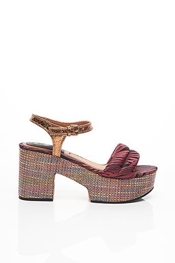 Sandales/Nu pieds rouge GIOSEPPO pour femme