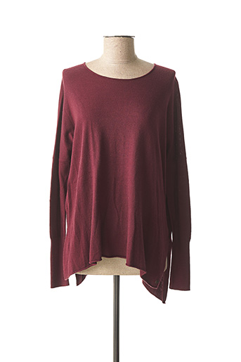 Pull col rond rouge GARCIA pour fille