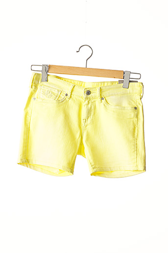 Short jaune PEPE JEANS pour fille