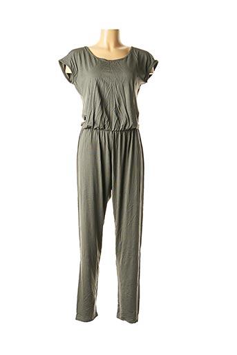 Combi-pantalon vert LA FEE MARABOUTEE pour femme