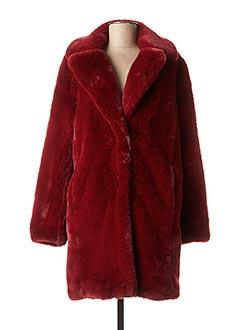 Manteau long rouge MKT STUDIO pour femme