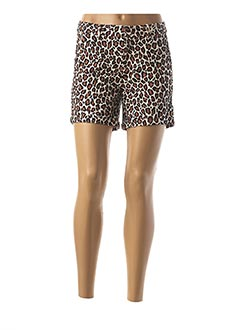 Short marron MAISON SCOTCH pour femme
