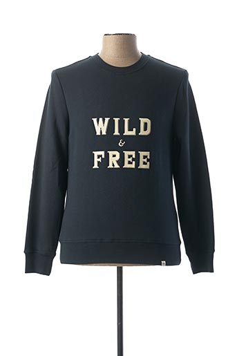 Sweat-shirt bleu PEARLY KING pour homme
