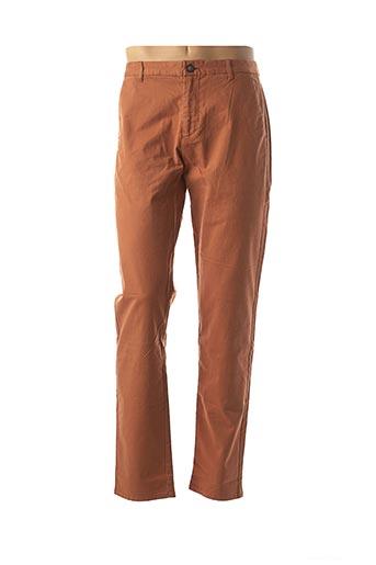 Pantalon casual marron HARRIS WILSON pour homme