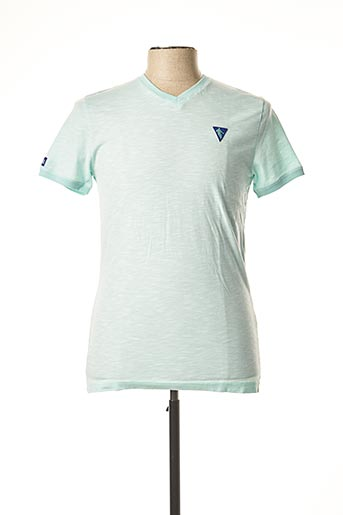 T-shirt manches courtes vert CAMBERABERO pour homme