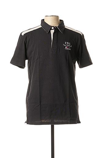 Polo manches courtes noir CAMBERABERO pour homme