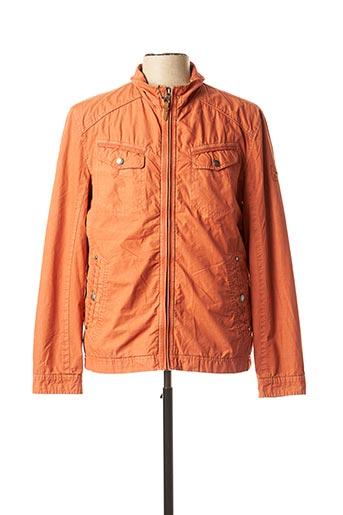 Veste casual orange CAMBERABERO pour homme
