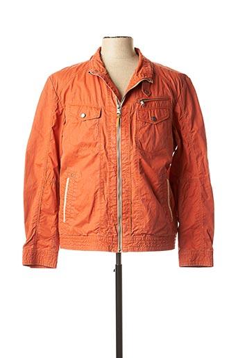 Veste casual orange PETER COFOX pour homme