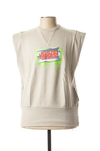 Sweat-shirt gris KULTE pour homme