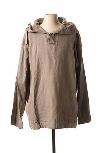 Sweat-shirt marron DUNDERDON pour homme