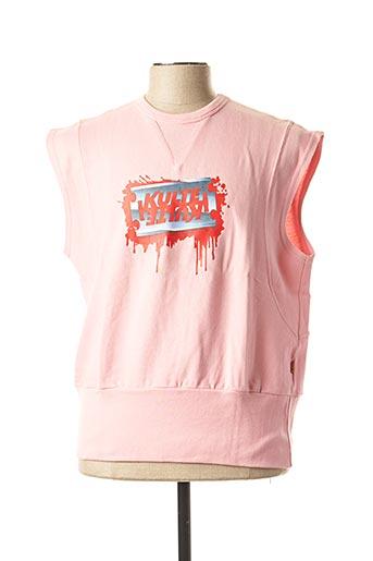 Sweat-shirt rose KULTE pour homme