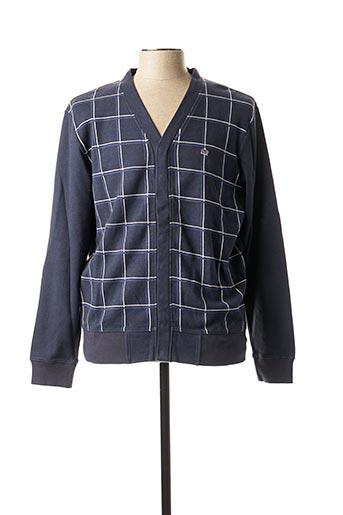 Veste casual bleu MERC pour homme
