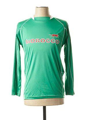 T-shirt manches longues vert AIRNESS pour homme