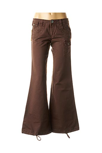 Jeans bootcut marron LOIS pour fille