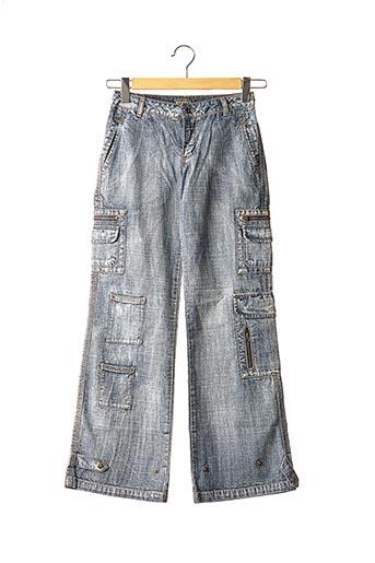 Jeans coupe large bleu DDP pour fille