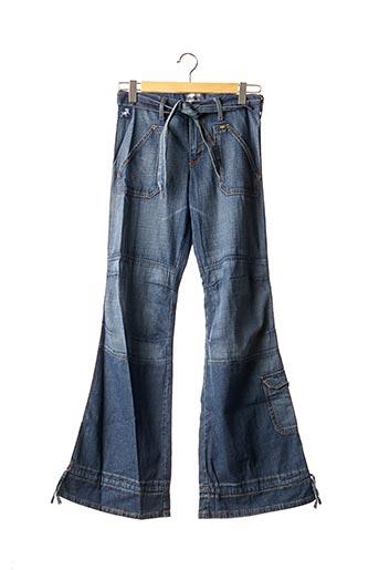 Jeans coupe large bleu LOIS pour fille