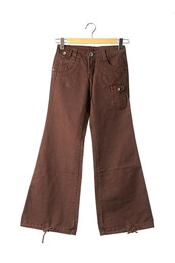 Pantalon casual marron LOIS pour garçon