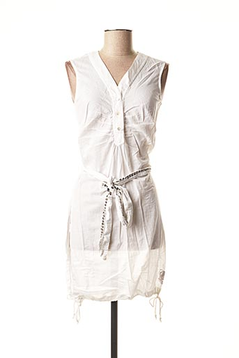 Robe courte blanc CHILLI PEPPER pour femme