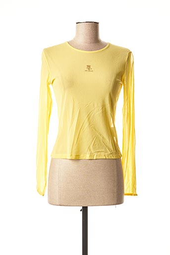 Top jaune TEDDY SMITH INDUSTRY pour fille