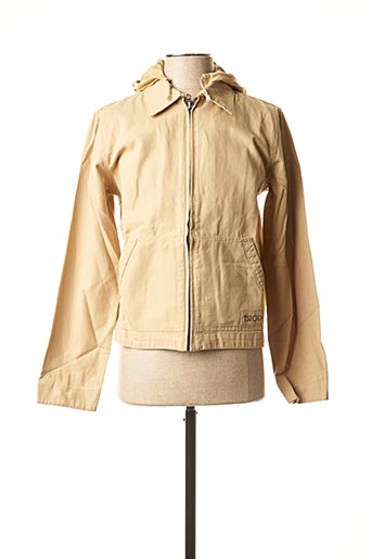 Veste casual beige TEDDY SMITH INDUSTRY pour fille