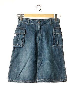 Jupe mi-longue bleu CIMARRON pour fille