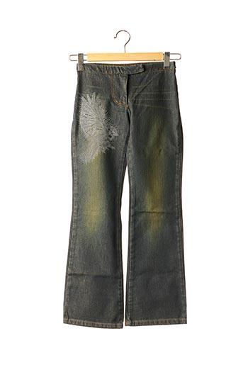 Jeans bootcut noir BILL TORNADE pour fille