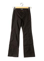 Pantalon casual noir TEDDY SMITH pour fille seconde vue