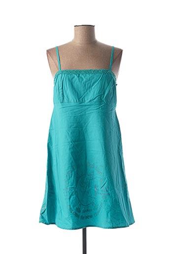 Robe courte bleu BE YOU K pour femme