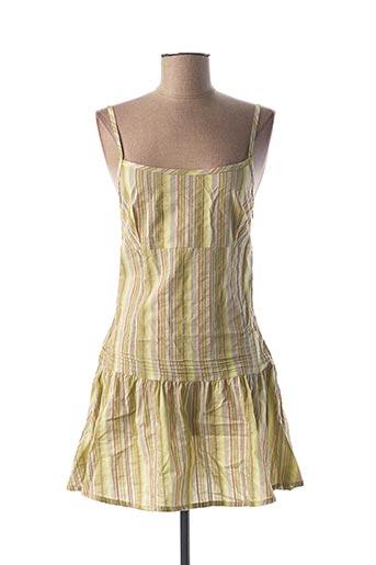 Robe courte vert CIMARRON pour femme