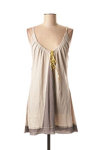 Robe courte gris FIRETRAP pour femme