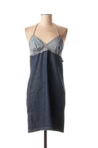 Robe mi-longue bleu QUIKSILVER pour femme