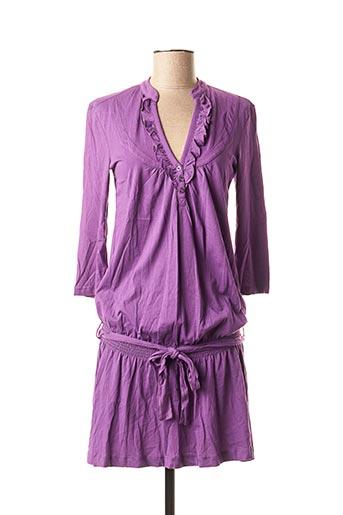Robe mi-longue violet EDC BY ESPRIT pour femme