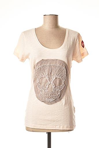 T-shirt manches courtes rose DN.SIXTY SEVEN pour femme
