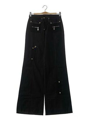 Pantalon casual noir YKX & CO pour fille