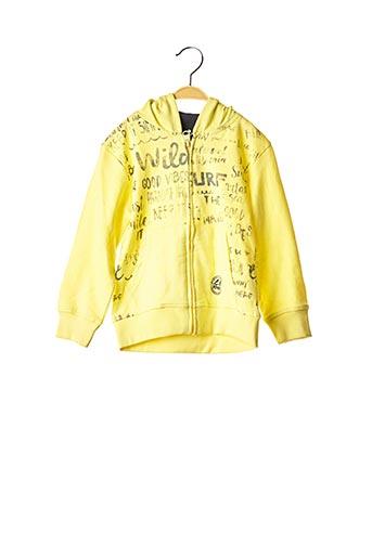 Veste casual jaune LOSAN pour garçon