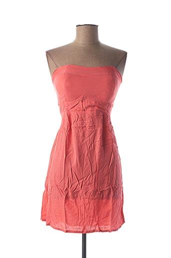 Robe courte rose BEACHWEAR pour femme