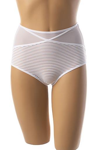 Culotte gainante blanc ANTIGEL pour femme