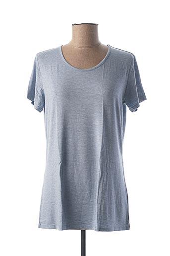 T-shirt manches courtes bleu CALIDA pour femme